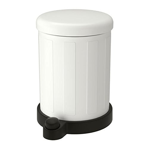 IKEA Toftan - Papelera de color blanco