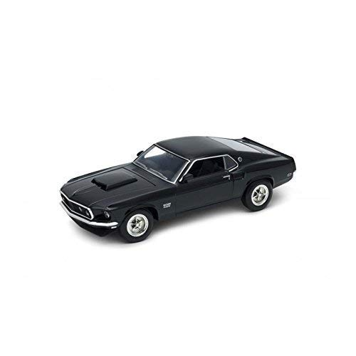 Welly 24067 Ford Mustang Boss 429 Negro Escala 1:24 Modelo a Escala