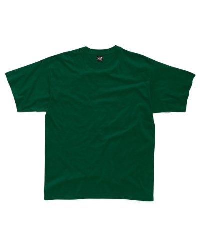 SG sg18K-bg-78Kids Heavyweight T-Shirt, Gr. 7–8, Flasche Grün (10Stück)