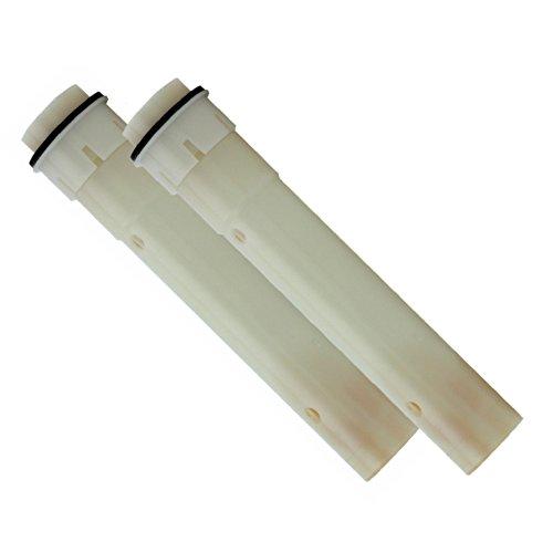 Sanquell GmbH Doppelpack Membranfilter für Legionellen-Spezialduschkopf | Safety Einsatz | aus der Medizintechnik | filtert sofort Legionellen zuverlässig | ohne Chemie