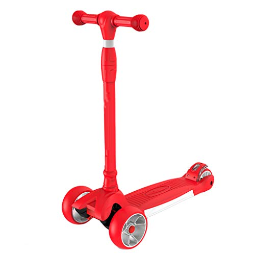 Find Bargain Scooter ZHAOSHUNLI Child Girl Boy 3 Round Flash 2 Years Old 3-6-10 Years Old Beginner O...