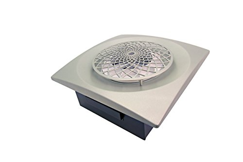 Aero Pure CYL400-SR SN Extractor Fan with Cyclonic Technology for Bathroom or Laundry Room