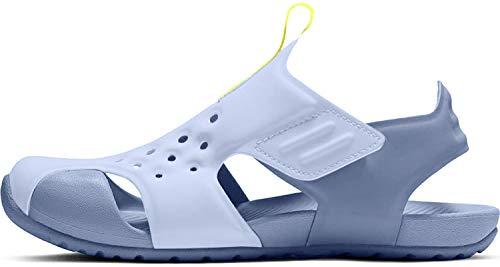 Nike Jungen Sunray Protect 2 (ps) Dusch- & Badeschuhe, Mehrfarbig (Aluminum/Volt/Indigo Storm 000), 33.5 EU