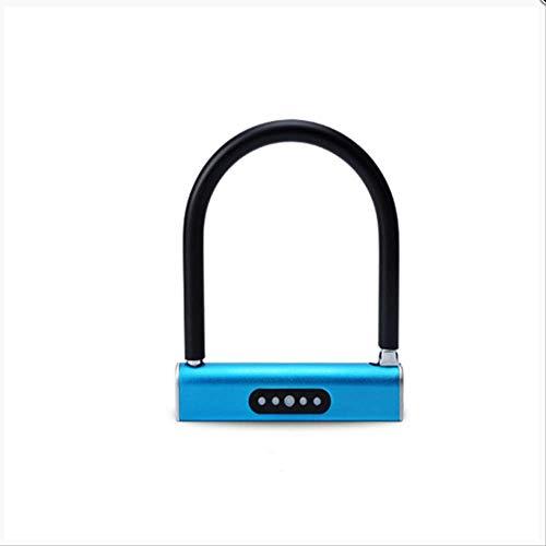 Wedrw Smart Bluetooth ontgrendelmodus, zonder sleutel, diefstalbeveiliging, blauw model