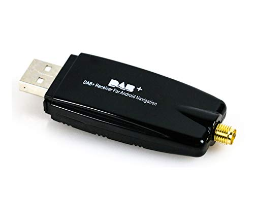YUNTX Radioempfänger, Car Kit, digitale Audioübertragung Dab Dab + Box Radioempfängeradapter mit Antenne für Android
