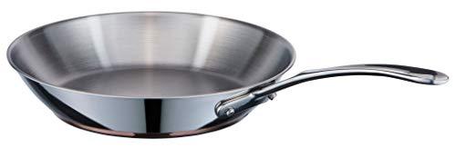 MasterChef Copperline - Sartén de cocina (5 capas, apta para inducción, 28 cm)