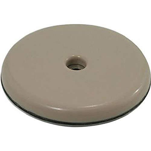 Shepherd Hardware 9453 2-Inch Round, Adhesive Slide Glide Furniture Sliders, 4-Pack
