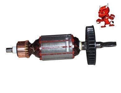 Anker Rotor Kollektor Läufer passend für Bosch GBH 2-24 DSR mit sechs Zahnwelle
