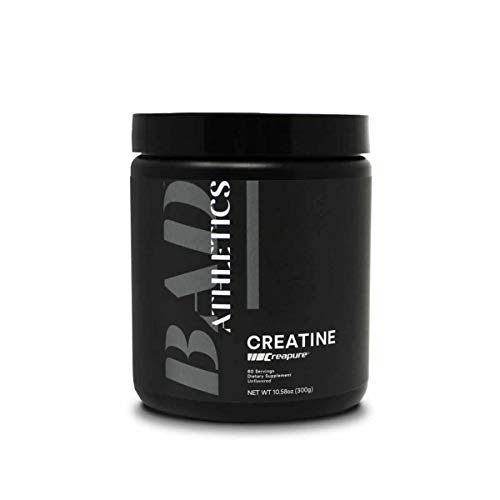 BAD Athletics Creatine for Women Helps Build Strength and Increase Your Power Output During Exercise, Allowing You to Attack Your Workouts with Intensity and Power.