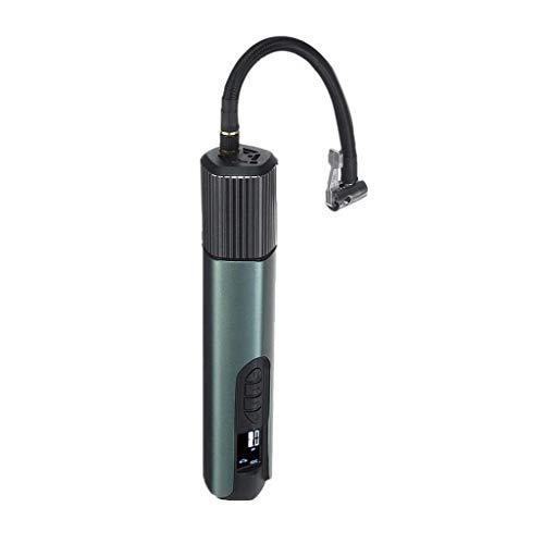 XYSQWZ Compresor De Aire InaláMbrico USB 140Psi Bomba Inflable De Mano LCD para Bicicletas De AutomóVil Llantas Bolas Anillos De NatacióN (Color: B)