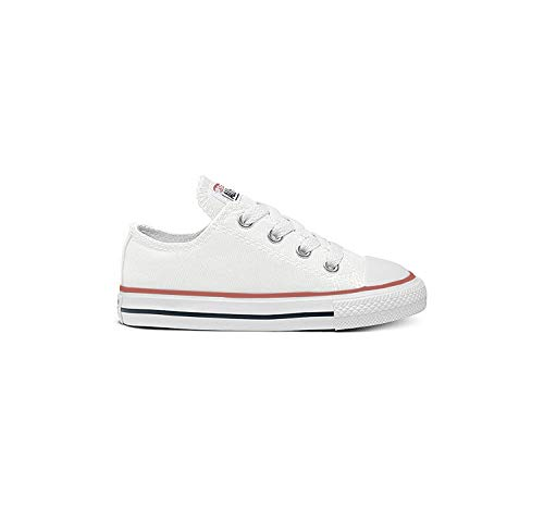 Converse Chuck Taylor All Star, Zapatillas de Lona Infantil, Blanco, 35 EU (2.5 UK)