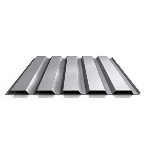 Trapezblech | Profilblech | Wandblech | Profil PA35/1035TW | Material Aluminium | Stärke 0,70 mm | Beschichtung 25 µm | Farbe Weißaluminium