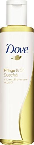 Dove Duschöl verzorging & olie, verpakking van 6 (6 x 200 ml)