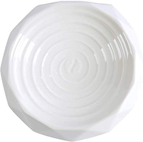 hinkPet Plato de cerámica para gatos con tapete - Recipiente de comida...