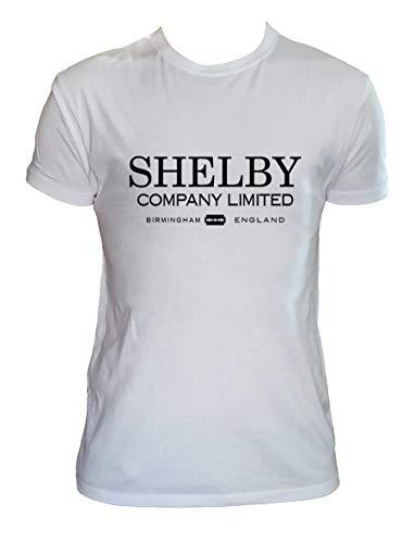 Shelby Company Tshirt Herren Kinder Tommy Shelby Gin Serien Shirt, Kinder 7-8 Jahre