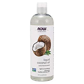 Now Solutions Liquid Coconut Oil Light and Nourishing Promotes Healthy-Looking Skin and Hair_x000D_