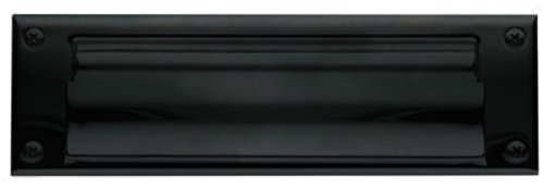 Baldwin 0017.102 Hinged Magazine Size Letter Box Plate, Oil Rubbed Bronze