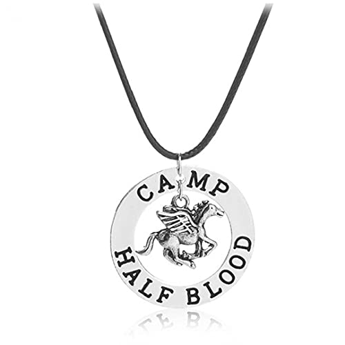 TOSSPER Percy Collar 1pc Último Olímpico Campo Pegasus Zeus Mestizo Fresco De Joyería Colgante Hombres