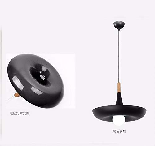 Hai Ying * hanglamp kroonluchter vintage retro led landhuisstijl creatieve potplanten verlichting zwart/bar restaurant gedecoreerd 400 Mm