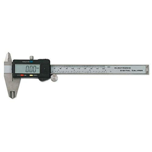 GEARWRENCH 6' Digital SAE/Metric Caliper with Large LCD Window - 3756D