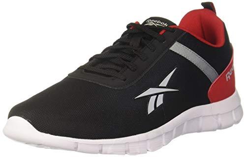 Reebok Men Emergo Runner Lp Blk/Flat Grey/Red Rush Running Shoes-7 UK (40.5 EU) (8 US) (FV8864)