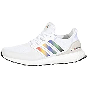 adidas Ultraboost DNA White/Active Red/Core Black 9 B (M)