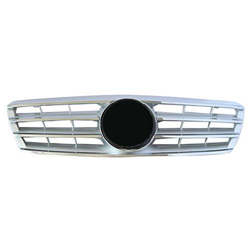 Carrocería Rejillas radiador para Mercedes para Benz Clase C W203 W204 C280 C320 C240 C200 C180 C200 C260 C63 2000-2006 Parrilla de Rejilla Frontal de Coche
