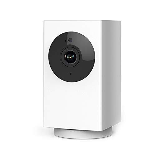 最新版ネットワーク Wi-Fi 屋内防犯カメラ Rreslicam 1080p フルHD 高感度センサー搭載 赤外線ナイトビジョン 動作検知アラート 双方向音声 暗視撮影 自動追跡 録画可能 ペットカメラ 見守りカメラ ベビーモニター