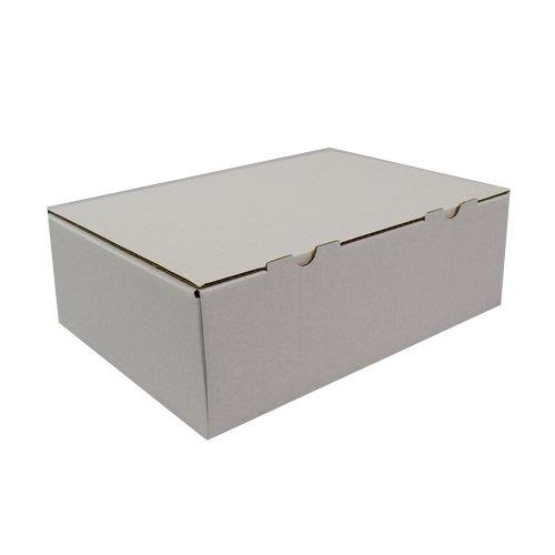as-kartons 40 neue Geschenkkartons Faltkartons Maxibrief kartons Post Mail Box Weiss FREI HAUS!