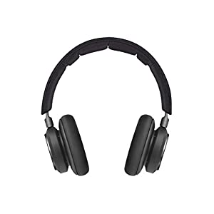 Bang & Olufsen Beoplay H9 3rd Gen Wireless Bluetooth Over-Ear Headphones (Amazon Exclusive Edition) - Active Noise Cancellation, Transparency Mode, Voice Assistant Button and Mic, Matte Black