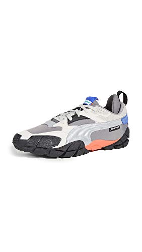 PUMA Select Men's Centaur Attempt Sneakers, Steel Grey/Silver, 8 Medium US