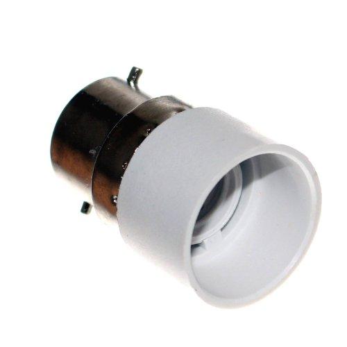 1 Adapter B22 Sockel auf E14 Fassung UK Zwischenstecker für Leuchtmittel & LED GB 230V Neu Old-Harvest