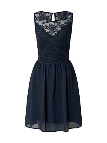 Vila Damen Cocktailkleid Navy 34