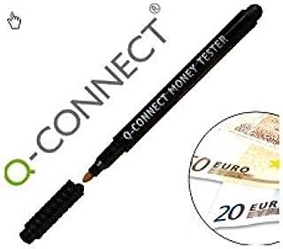 Q-Connect KF14623 - Rotulador detector de billetes falsos, c