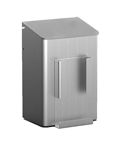 MediQo-line Hygienebehälter 6 l - Aluminium - Mülleimer - Hygienababfallbehälter