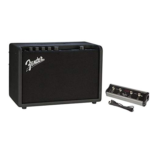 Learn More About Fender Mustang GT 40 40W (2X 20W in Stereo) WiFi Digital Amplifier with 21 Amp Models, 46 Effects 4-Button Footswitch for Mustang Amplifier