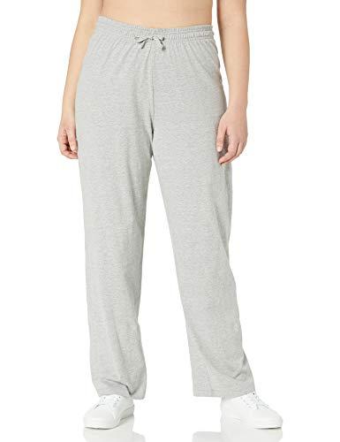 Champion Women's Plus-Size Jersey Pant, Oxford Gray, 1X