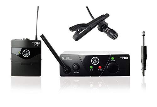 AKG WMS 40 Mini Presenter Komplettset ISM1 inkl. Lavalier-Mikrofon