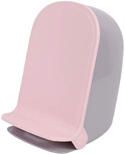 Trash/Mülleimer Pedal Trash Can Abnehmbare Abfalleimer Mülleimer aus Kunststoff mit Deckel Mülleimer 4L (1,0 Gallonen) (Farbe: blau) Trash Can Papierkorb (Size : Pink)