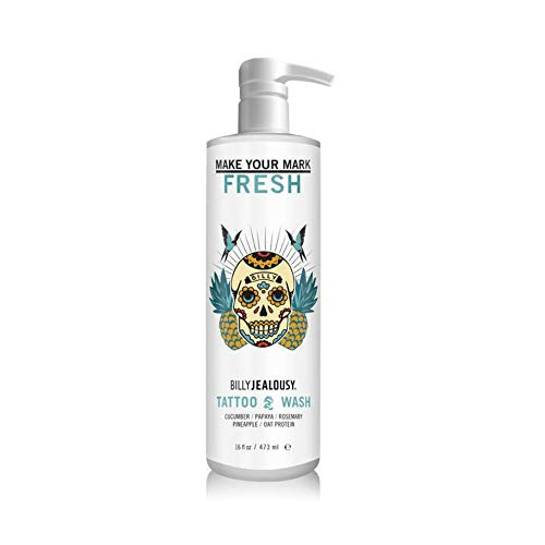 Billy Jealousy Make Your Mark Tattoo Wash, 16 Fl Oz