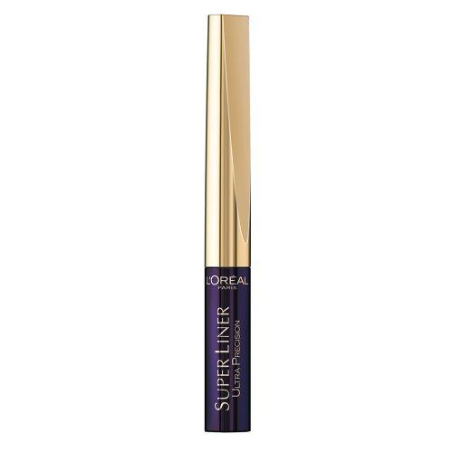 L'Oréal Paris Super Liner Midnight Black, Purple-Black, 1er Pack (1 x 2 ml)
