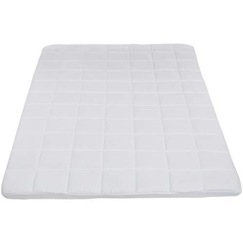 AmazonBasics topper voor matras van traagschuim, 140 x 200 x 5 cm