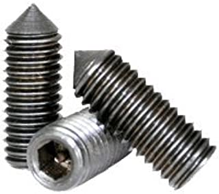 M5-.8 X 10 Socket Set Screw Cone Point A4 Stainless Steel Package Qty 100
