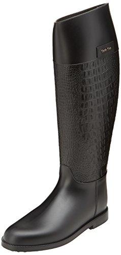 Calvin Klein Xiara - Botas de Agua para Mujer, Color Negro (blk), Talla 40
