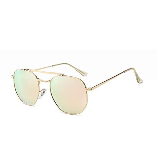 UKKD Gafas de sol Gafas De Sol Polarizadas Cuadradas Retro Hombres Antirreflejo De Accionamiento Espejo Masculino Anti-Alto Haz Gafas De Sol Uv400-9I