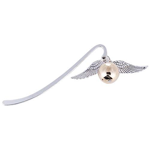 1 Retro lega Pc metallo dell'ala Bookmark Oro Migliore regalo per Reader Snitch Harry contrassegno di libro di Harry Potter Bookmark