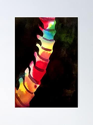 AZSTEEL Póster de lomo de 29,7 x 41,9 cm para amigos y familia