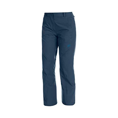 Mammut Casanna Pantalon Hard Shell Isolant Femme Wing Teal FR : M (Taille Fabricant : EU 38)