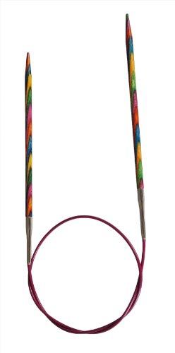 KnitPro 50 cm x 4,5 mm Symfonie Aiguilles à Tricoter circulaires Fixes Multicolore