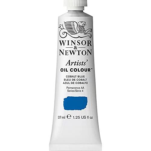 Winsor & Newton Artists' Oil Color Paint, 37-ml Tube, Cobalt Blue